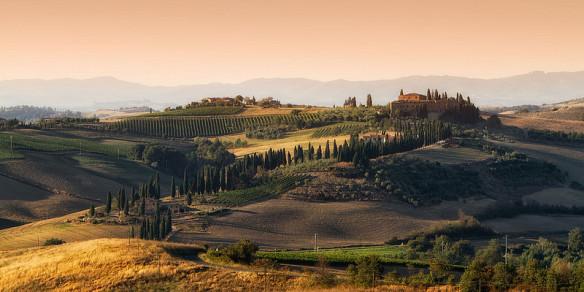 Nur über italienische Landschaften verliert das Buch kein Wort...